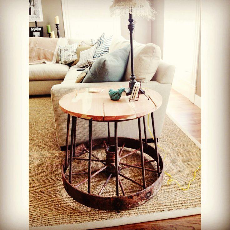 25 Best Ideas About Wagon Wheel Table On Pinterest