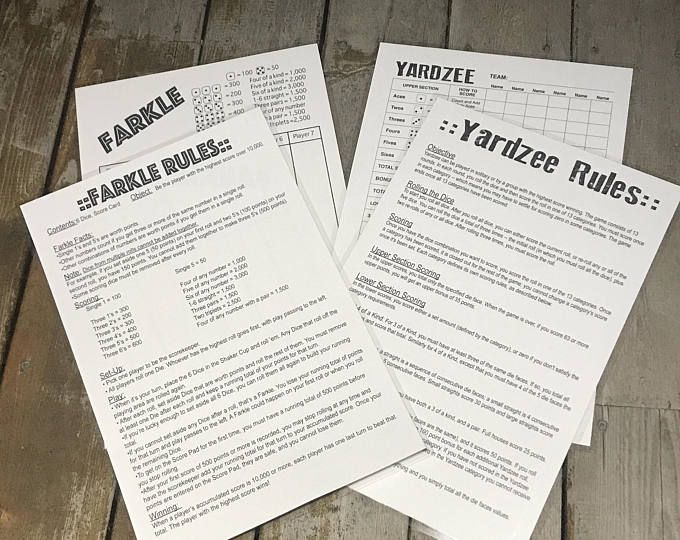 Mothers Day Gift Ideas Jumbo 11x17 Laminated Reusable Double Sided Yardzee Farkle Scorecard In 2019 Affordable Wedding Favours Bachelorette Party Gifts Wedding Decorations