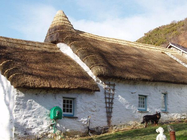 Lowimpact.org - thatching Learn the ancient skill of roofing your home with natural, biodegradable and beautiful reeds or straw.