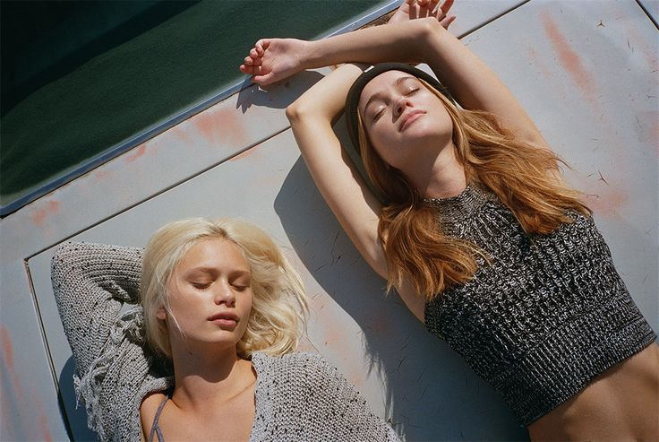 PACIFIC GIRLS AW.15 - EDITORIAL - PULL&BEAR United Kingdom