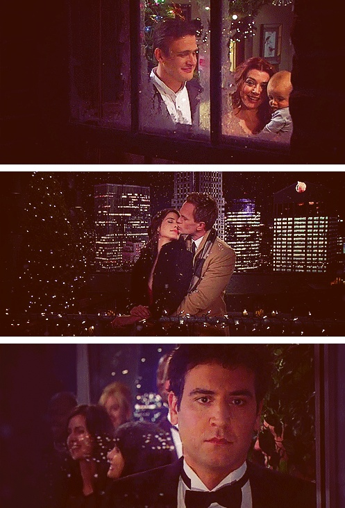 Teeeeeedddd... stoooopppppppp... I love you! I'll marry you! STOP MAKING ME FEEL BAD FOR BEING HAPPY! #HIMYMspoilers