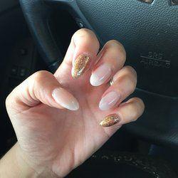 Tammy Nails - Chico, CA, United States. Gel nails almond shape! Acrylic
