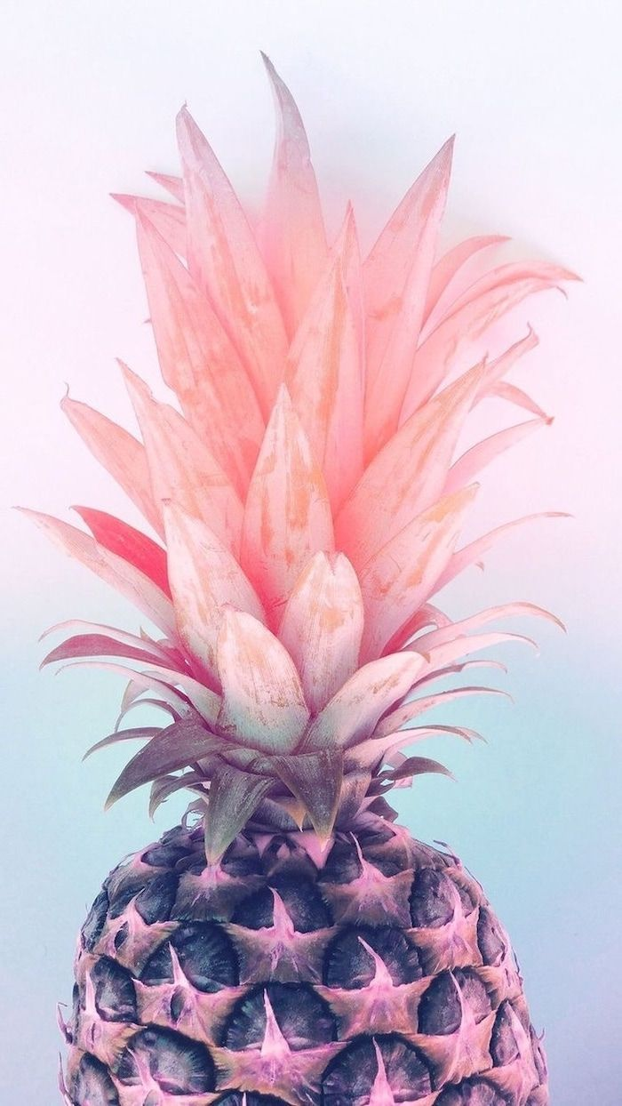 Whole Pineapple With A Pink Crown Cute Backgrounds For Girls Pink And Blue Ba F Cute Backgrounds For Girls Cute Girl Wallpaper Pastel Iphone Wallpaper