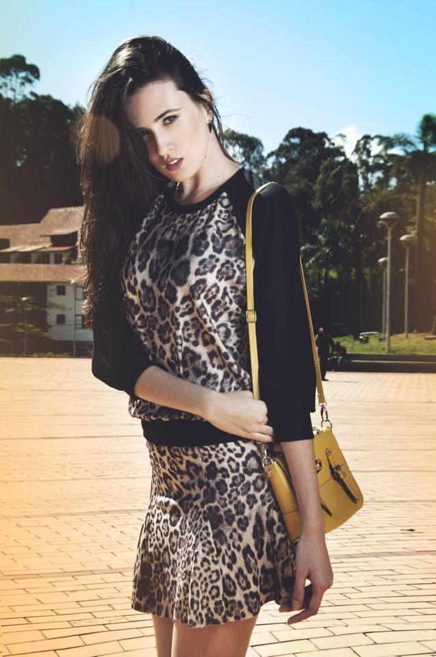 O animal print segue firme e forte. Solte por aí suas estampas de onçinha! Na loja on line www.amourami.com.br