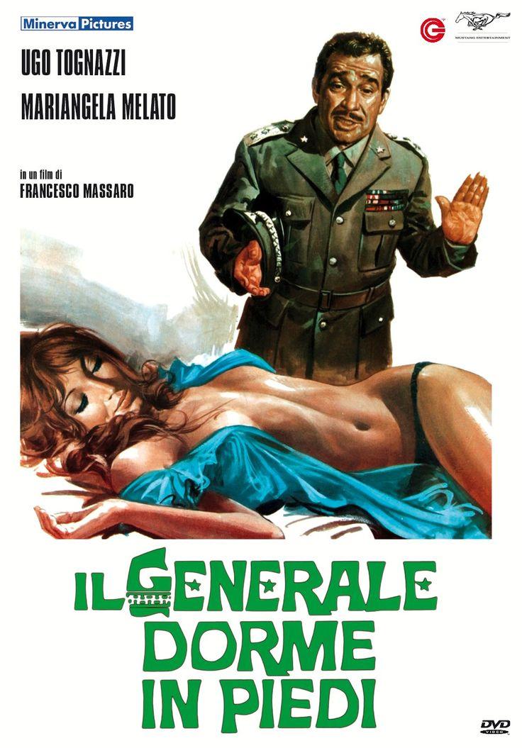 """""""Il generale dorme in piedi"""", di Francesco Massaro, con Ugo Tognazzi e Mariangela Melato."""