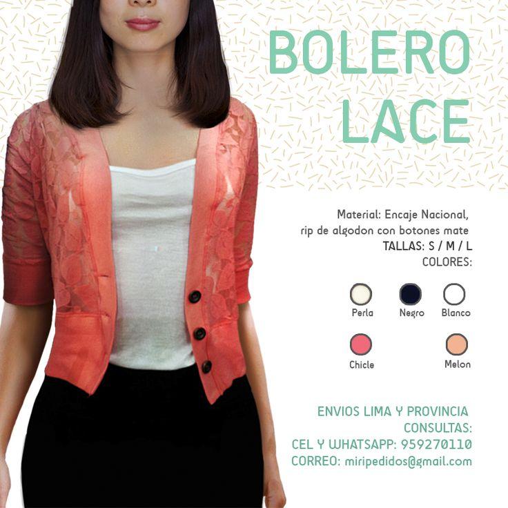 Chicas pidan!! BOLERO LACE : 35.00 soles FALDA NEGRO : 35.00 soles ENVIOS LIMA Y PROVINCIA  CEL Y WHATSAPP: 959270110  #Miri #visteelegante #blusas #faldas #bolero #pantalón #moda #ropa #outfit #elegante