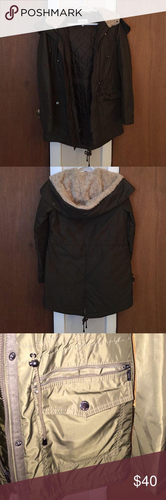 Laundry Winter Jacket Dark green Laundry Jacket - fur not detachable Laundry by Shelli Segal Jackets & Coats