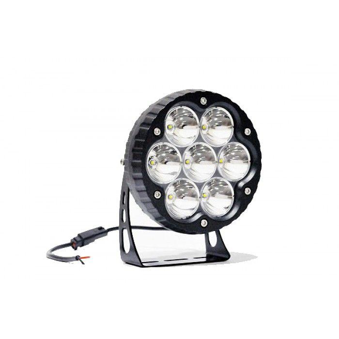 7  11000 LUMEN Ultra High Intensity Impulse LED Round Driving Light 2500u0027 range in  sc 1 st  Pinterest & 56 best Impulse LED Lights images on Pinterest | Led light bars ... azcodes.com