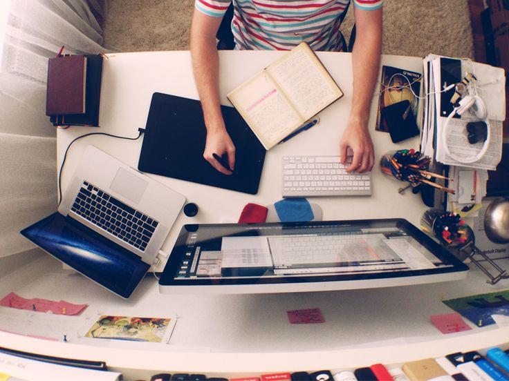 My Workspace by Roman Zapotichnyi
