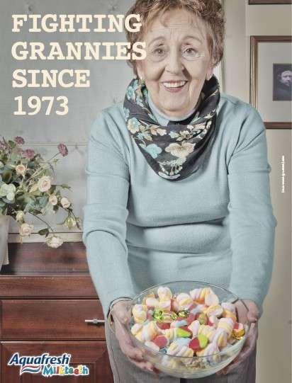 16 Granny-Incorporating Ads #advertising #ads trendhunter.com