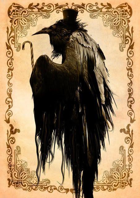 A raven gentleman