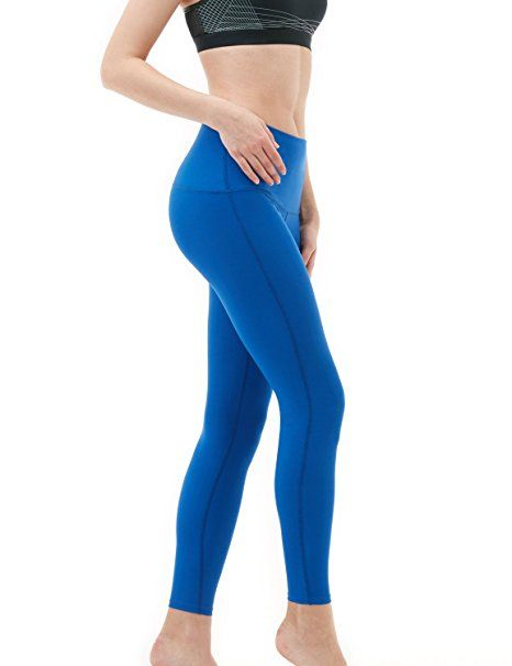 2eb79d3233220 Tesla TM-FYP42-BLU_X-Small Yoga Pants High-Waist Tummy Control w ...