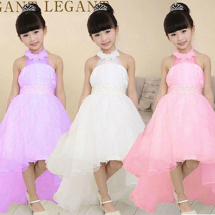 halter princess girls dresses Ceremonies kids formal clothes disfraz fever costume vestido rapunzel dress disfraces jurk