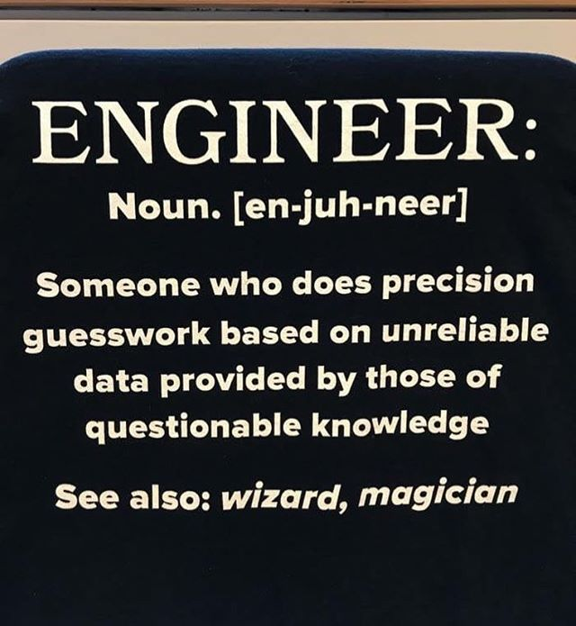 It S Official Engineers And Wizards Are One In The Same Makeuseof Engineers Wizard Getitdone Engineering Humor Engineering Quotes Engineering Student