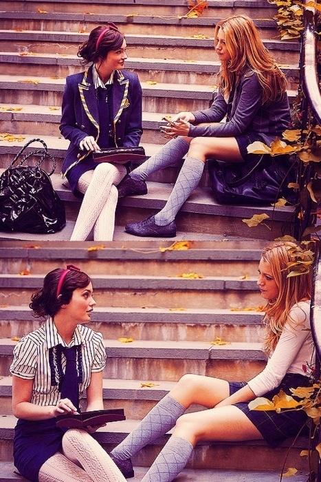 prep school (Gossip Girl) I wish our uniforms were like this