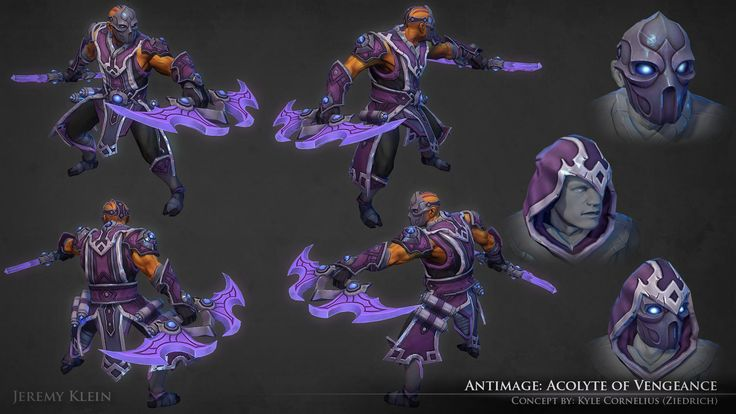 ArtStation - Antimage: Acolyte of Vengeance, Jeremy Klein