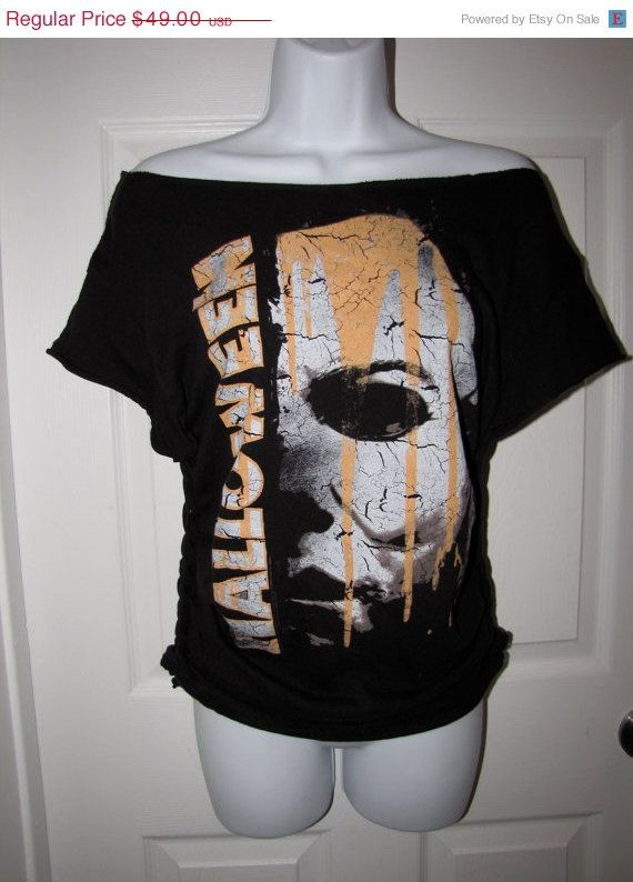 black HALLOWEEN Michael Myers mask shredded by FromMyHandsToYours