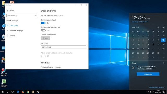 إصلاح مشكلة خطأ التاريخ والوقت في ويندوز 10 موقع الظريف Thezarif إصلاح مشكلة خطأ التاريخ والوقت في ويندوز 10 مرحبا بكم في مو Windows 10 Windows 10 Things