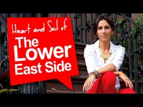 Sonia Gil, in partnership with StreetEasy, explores New York City's hottest neighborhoods! Join Sonia as she checks out the beautiful mix of past and future in the Lower East Side.    http://www.facebook.com/soniagilspage    http://www.twitter.com/sonia_gil    http://www.streeteasy.com