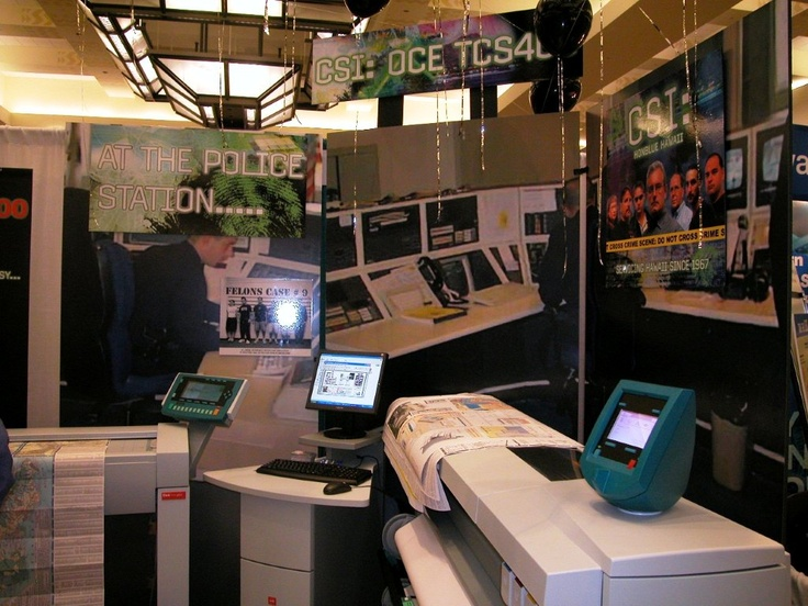 OCE booth PBTE 2004