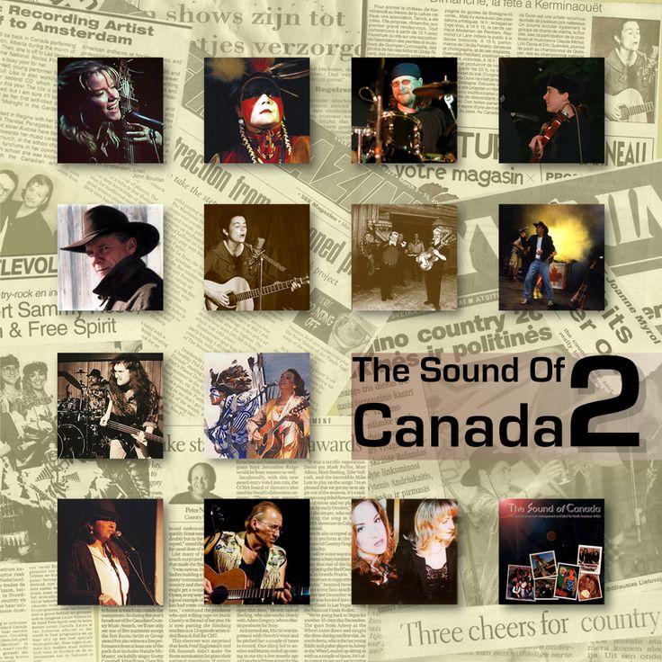"""Album design """"The Sound Of Canada 2""""."""
