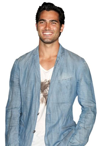 Honorees | Logo 2013 Hot 100 | Page 9 18. Tyler Hoechlin BORN: September 11, 1987 (age 25) Corona, CA HEIGHT: 6' (1.83 m) TYLER HOECHLIN SCORES HOTNESS POINTS FOR… Before perfecting the art of being a hot, brooding werewolf on Teen Wolf, our Alpha was hanging out in 7th Heaven as Martin Brewer. And did you spot him as the dreamy Julliard violin instructor in that one episode of Castle?