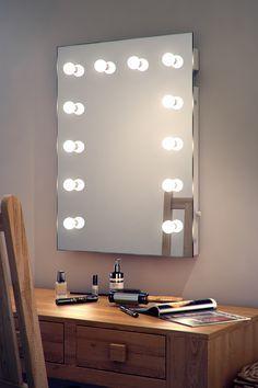 Specchio Hollywood per trucco camerino K90 | eBay