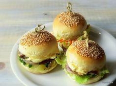 Pan di Pane: Ricetta Panini morbidi da aperitivo, Mini Buns