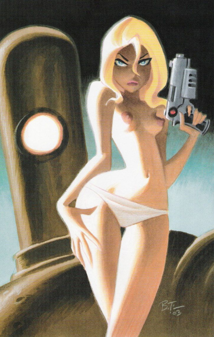 Girl and Robot by Bruce Timm