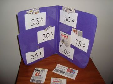 Cut and sort coupons by price. Practical life skills, math, and fine motor! -Repinned by http://Totetude.com
