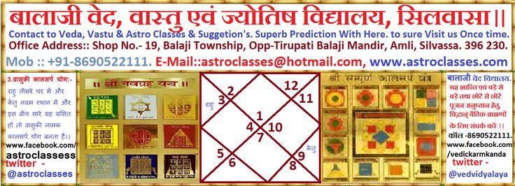 Veda, Vastu & Astro Classes, Silvassa.: Vasuki KaalSarpa Dosha. वासुकी नामक कालसर्प योग ।।...