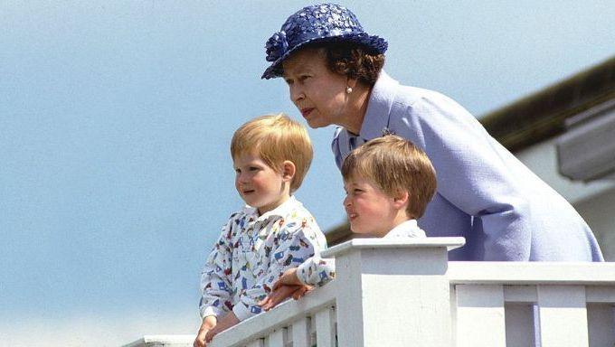 Príncipe William tinha um apelido fofo para a Rainha na infância