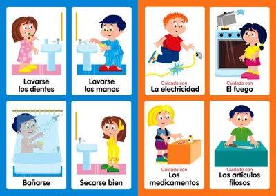 Hábitos de higiene y otros