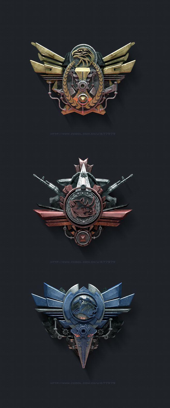 Icono insignia milit...