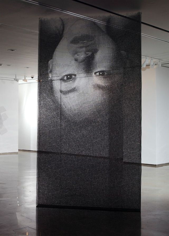 Ephemeral Portraits Cut from Layers of Wire Mesh by Seung Mo Park.- (via http://jaredleto.com/thisiswhoireallyam/2013/09/04/ephemeral-portraits-cut-from-layers-of-wire-mesh-by-seung-mo-park/