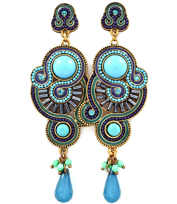 Gorgeous Vintage Inspired Dangle Earring Set MORE by GildedIce, $11.25