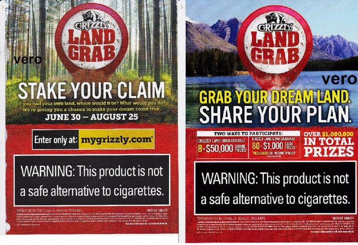 GRIZZLY 2015 magazine print ad clipping smokeless chewing tobacco land grab