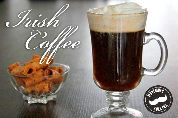 De klassieker onder de koffiecocktails is de Irish Coffee. Je maakt hem met Ierse whiskey, 2 theelepels bruine suiker, koffie en slagroom. Niet moeilijk. Wel lekker. Zeker op een koude zondagmiddag.