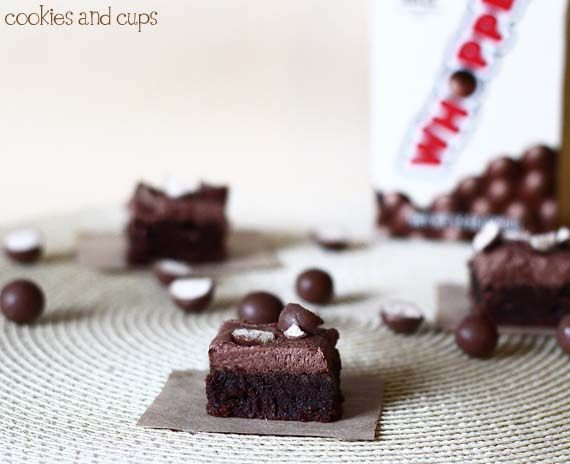 Milk Chocolate Whopper Brownies | Recipe