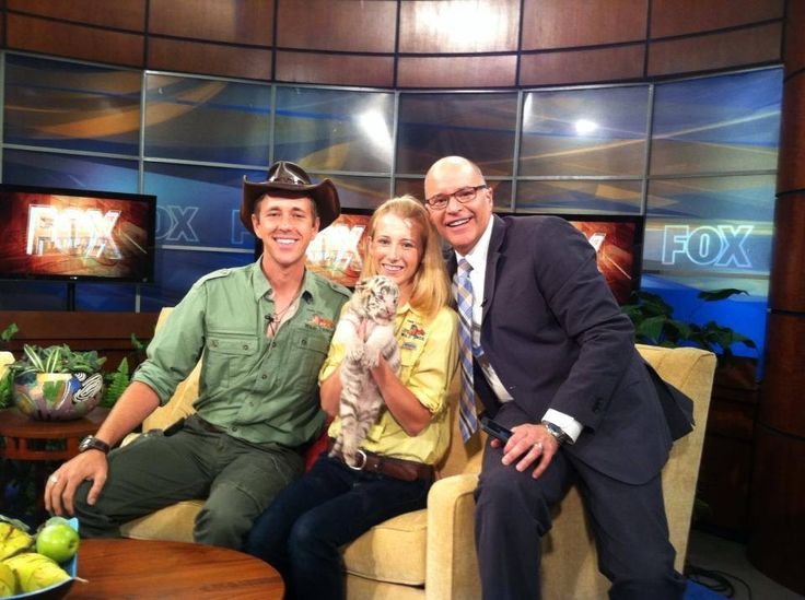 Randy. Kelsey and Russell Rhodes at Fox 13