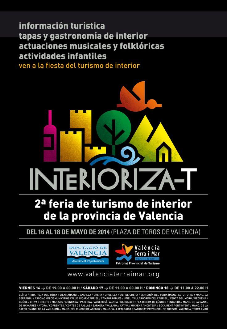 Cartel 2014 de la feria de turismo Interioriza-T