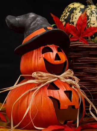 pompoen decoratie halloween knutselen