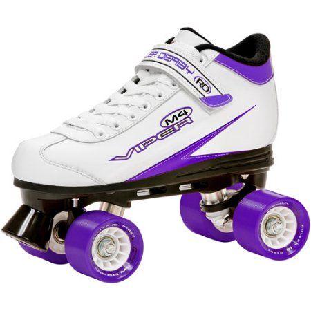 Viper M4 Women's Speed Quad Skates, White