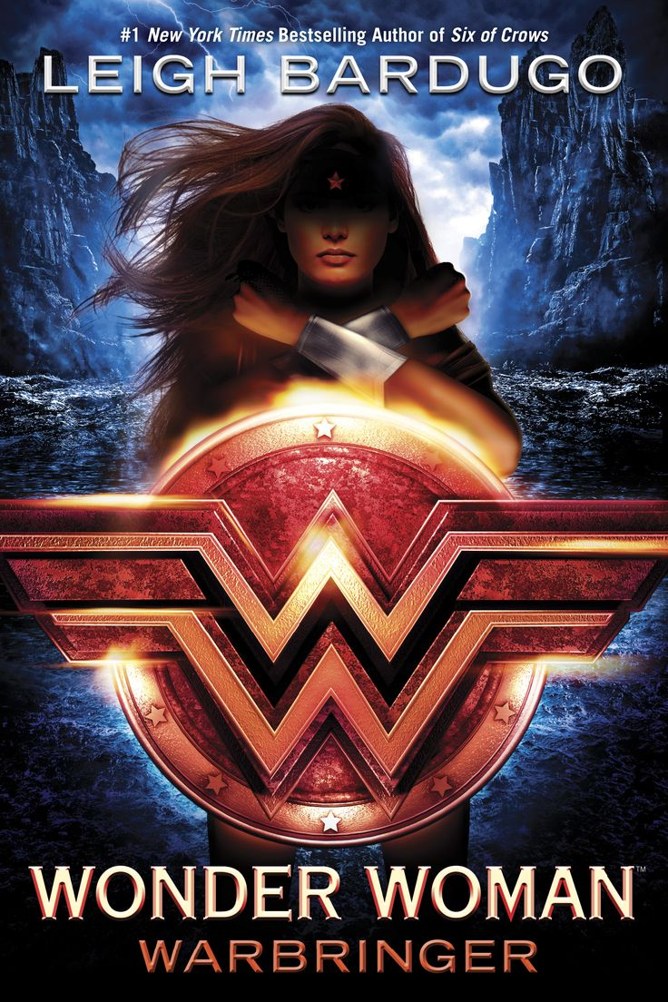 #CoverReveal Wonder Woman: Warbringer (Untitled, #1) by Leigh Bardugo