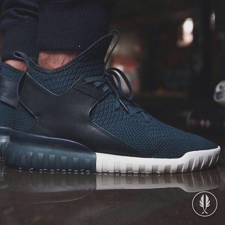"""Adidas Tubular X Knit"" •Midnight..."