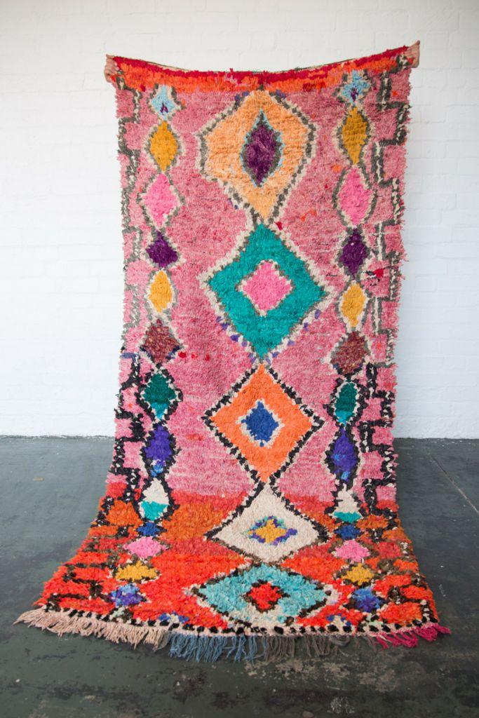 FRUIT TINGLE Boucherouite rug