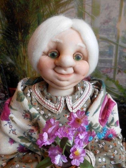 Коллекционные куклы ручной работы. Ярмарка Мастеров - ручная работа Бабушка  МАША- хранительница дома. Handmade.