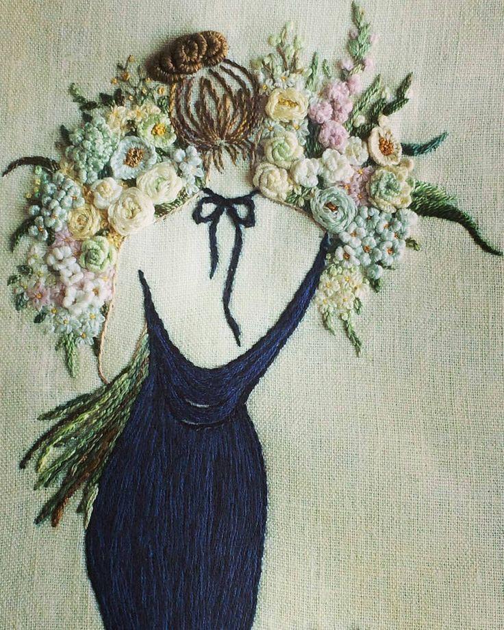 いいね!8,348件、コメント62件 ―  ⚪さん(@handmade.embroidery)のInstagramアカウント: 「@opia8610」