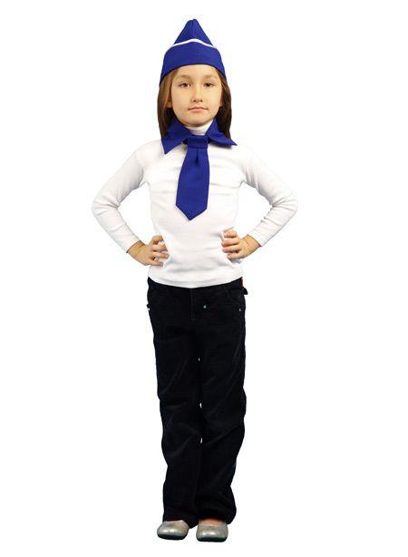Детский костюм стюардессы