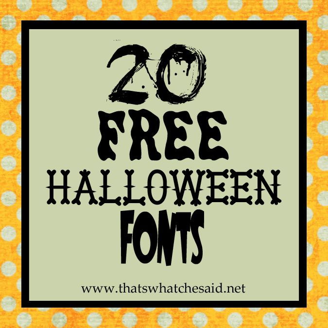 halloween fontsDownload Instructions, Design Freebies, Fonts Buttons, Free Fonts, Free Halloween, Free Holiday, 20 Free, Holiday Fonts, Halloween Fonts